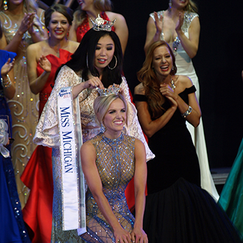 Heather Kendrick Crowned Miss MI